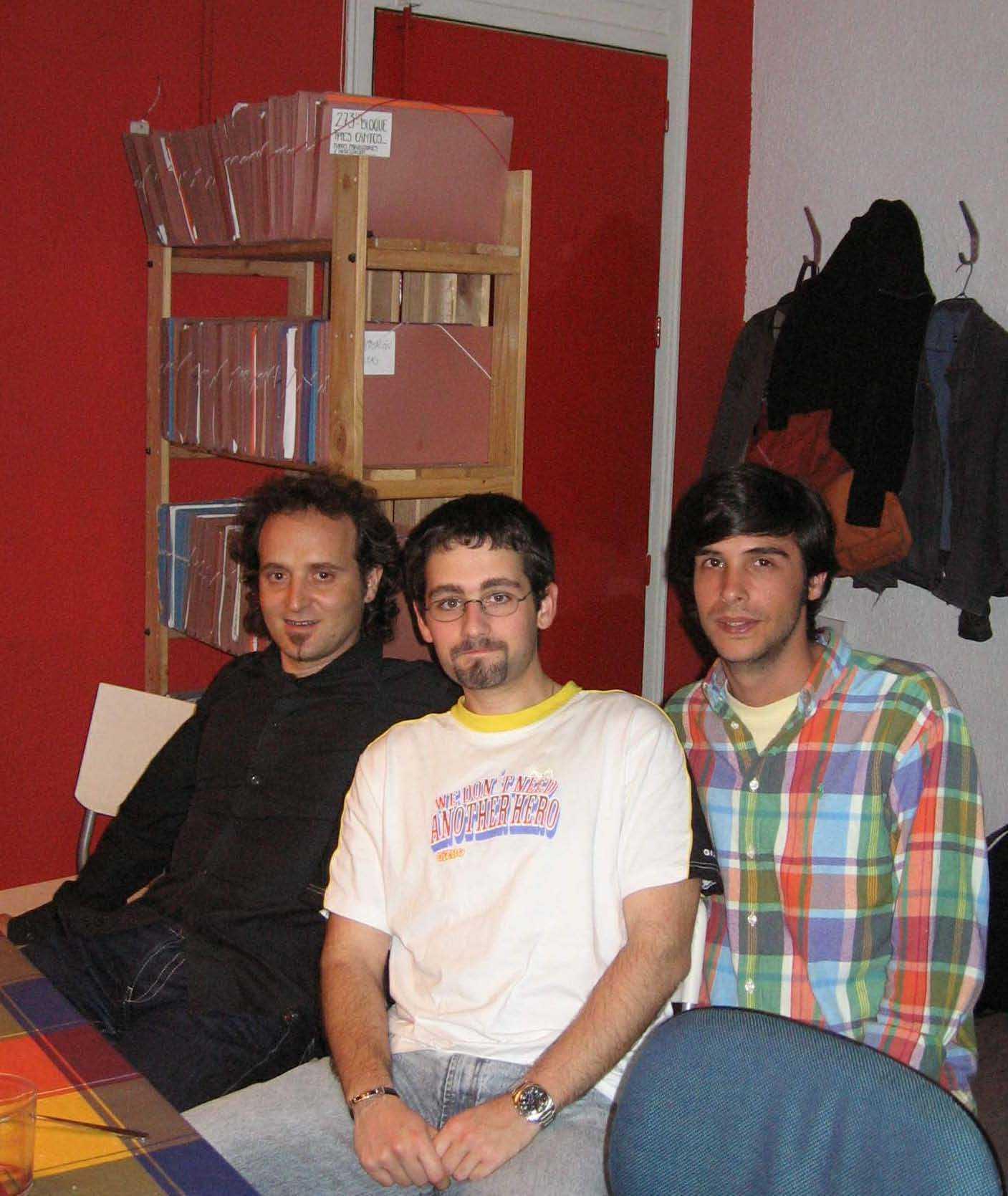 Antonio Alejandro, Wenceslao Vega y Antonio Castilla