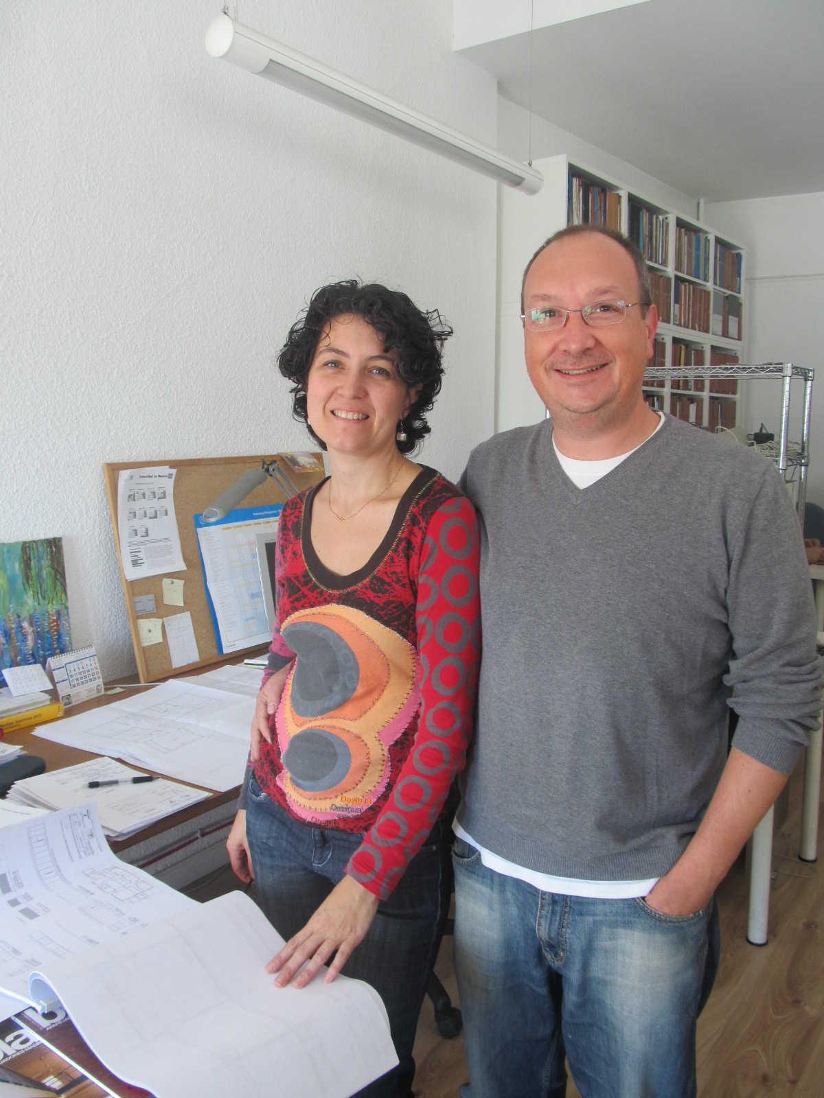 Bárbara Rodríguez y Hugo Osma