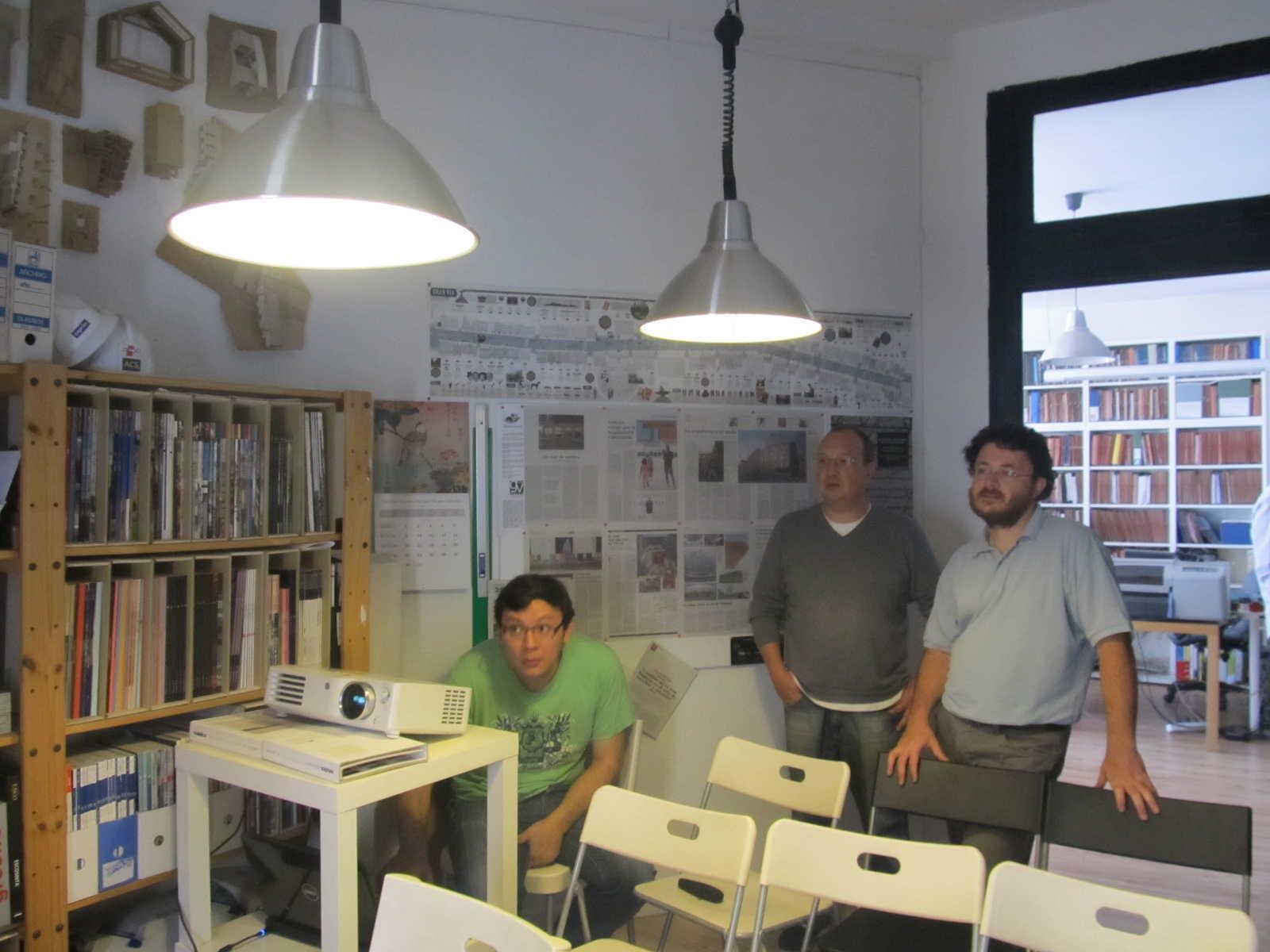 Fran Venegas, Hugo Osma y José Agulló