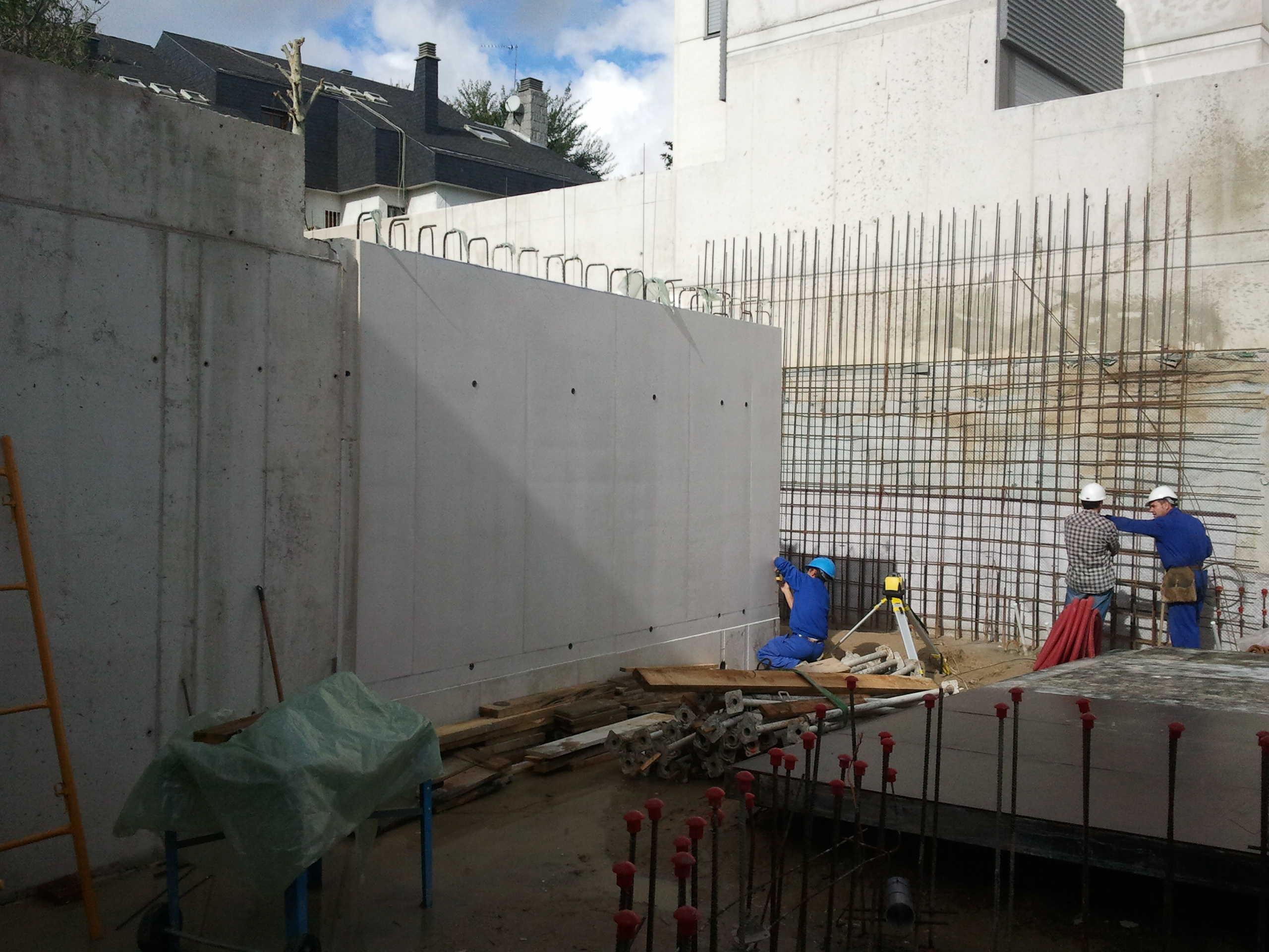 Vivienda unifamilar c/ Luis de la Mata, 2 (Madrid)</br></br>2011</br></br><h4>Cliente: Eslava y Tejada arquitectos (Miguel Tejada)</h4>