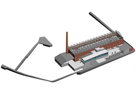 Rehabilitación de la antigua fábrica de  La Tejera para centro de formación, congresos y ferias