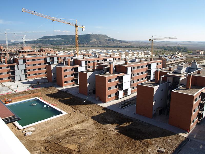 Bloques de 238 viviendas VPPA en Soto del Henares (Torrejón de Ardoz) </br></br>2008</br></br><h4>Cliente: Equipo 01 (Jesús San Vicente)</h4>