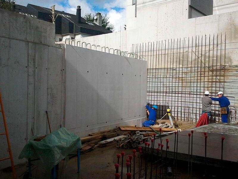 Vivienda unifamilar c/ Luis de la Mata, 27 (Madrid)</br></br>2011</br></br><h4>Cliente: Eslava y Tejada arquitectos (Miguel Tejada)</h4>