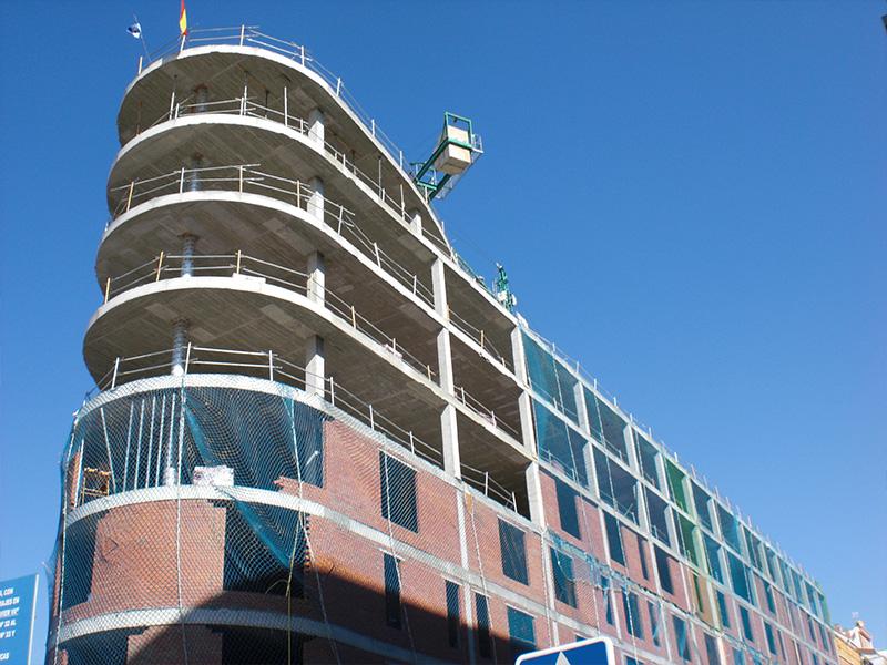 Bloque de 91 viviendas VPO en la colonia 'San Francisco Javier y Ntra. Sra. de los Ángeles' (Madrid) </br></br> 2012</br></br> <h4>Cliente: Antonio Rodríguez (Medinavere S.L.)</h4>