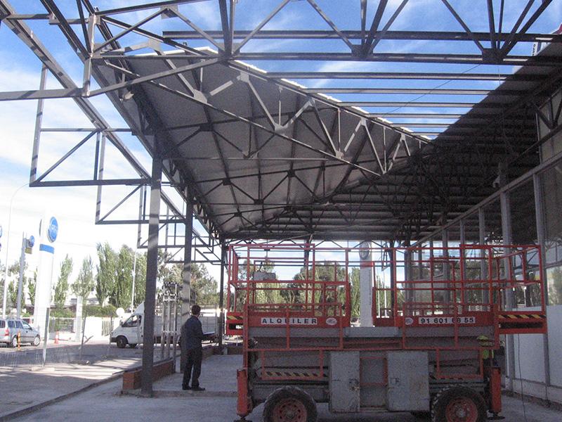 Ampliación de concesionario de automóviles FIAT en la Ciudad del Automóvil de Leganés </br></br> 2012</br></br> <h4>Cliente: Jesús Rodríguez (Stock Projects)</h4>