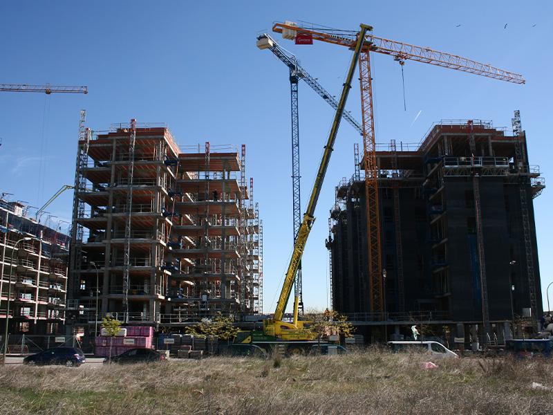 Bloque de 174 viviendas VPP de la UZP «Villaverde Butarque» (Madrid)</br></br>2014</br></br><h4>Cliente: Ramón González y Mathias Schütte (gps Arquitectos) </h4>