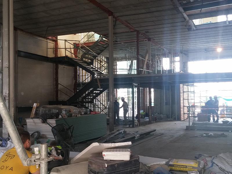 Reforma de nave industrial en el Polígono industrial Los Rosales (Móstoles) </br></br>2017</br></br><h4>Cliente: Arenas Basabe Palacios Arquitectos</h4>