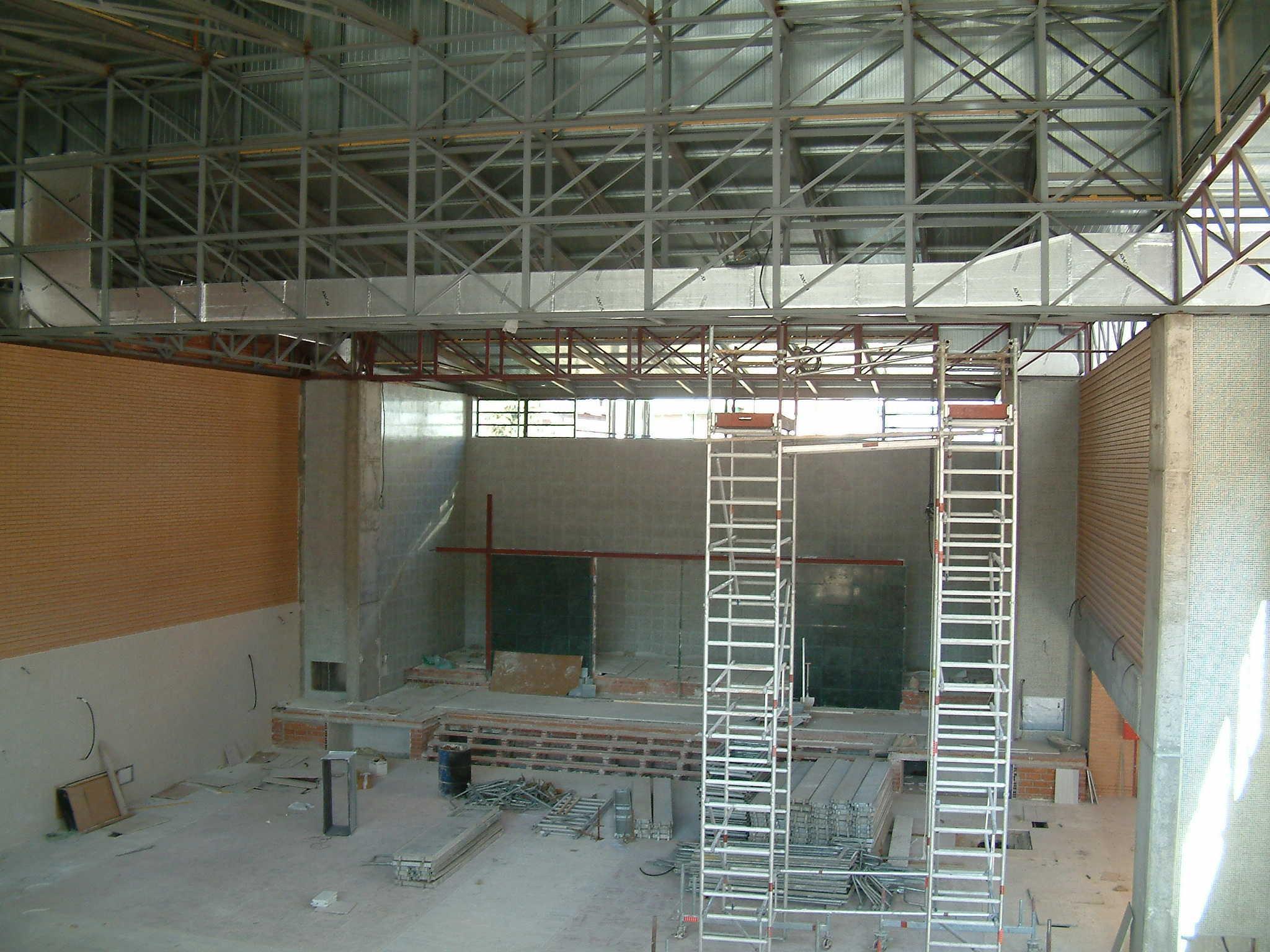 Templo-Iglesia Adventista y Centro docente c/ Rusia, 11 (Madrid)</br></br> 2005</br></br> <h4>Cliente: Equipo 01 (Jesús San Vicente)</h4>