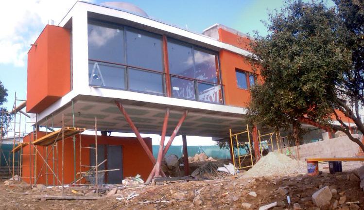 Vivienda unifamiliar aislada (casa «Padial-Gavián») (Madrid)</br></br> 2004</br></br><h4>Cliente: Estudio Padial Gavián, S.L.</h4>