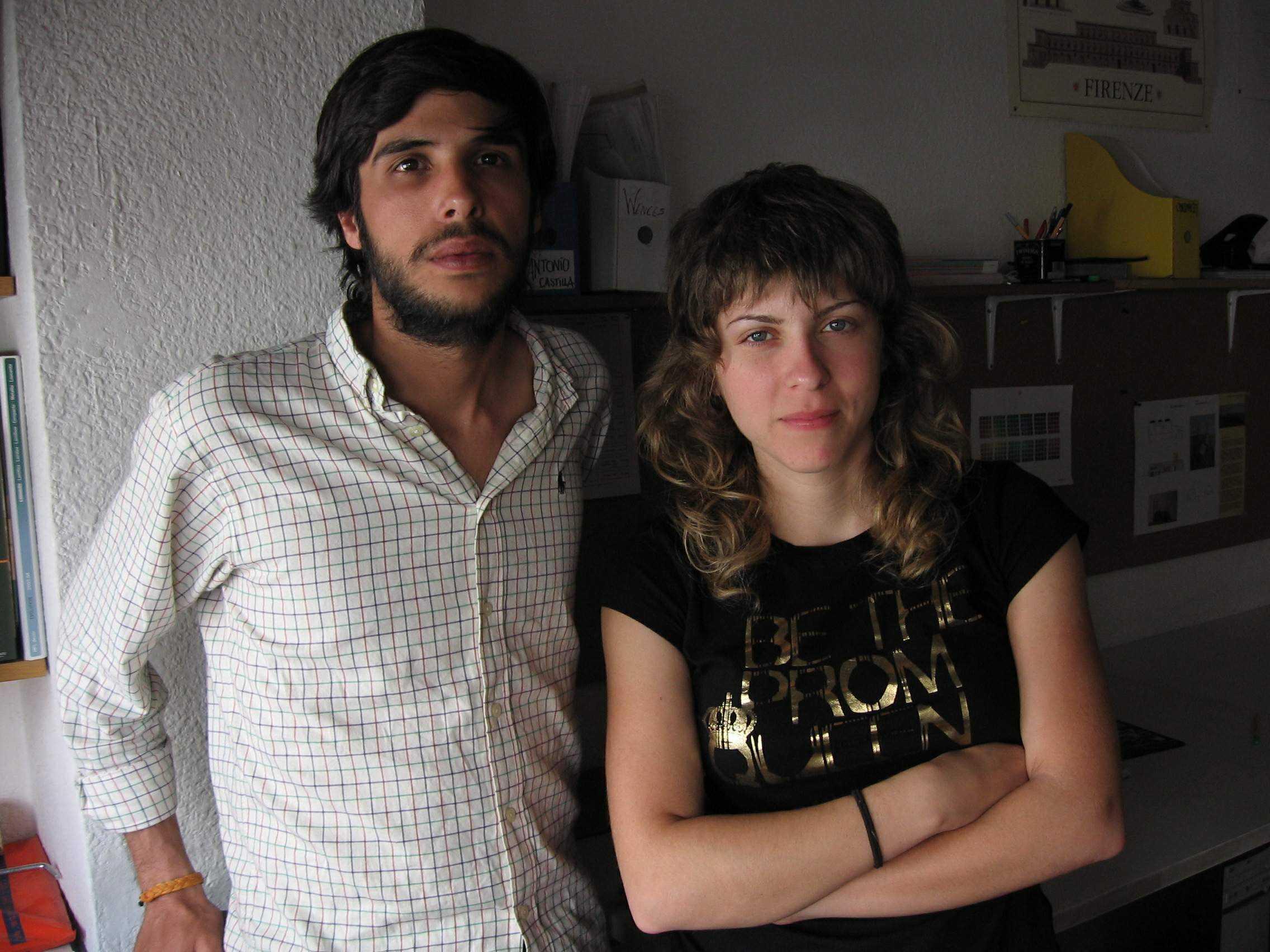Laura Galisteo y Antonio Castilla