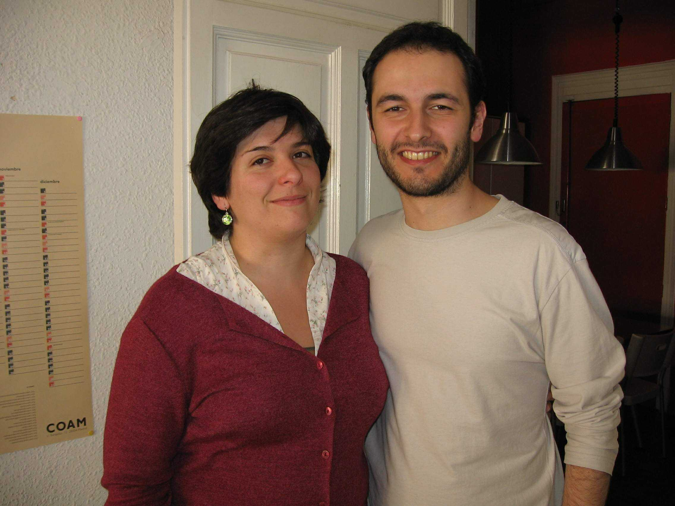 Lola Vivas e Iván Barreira