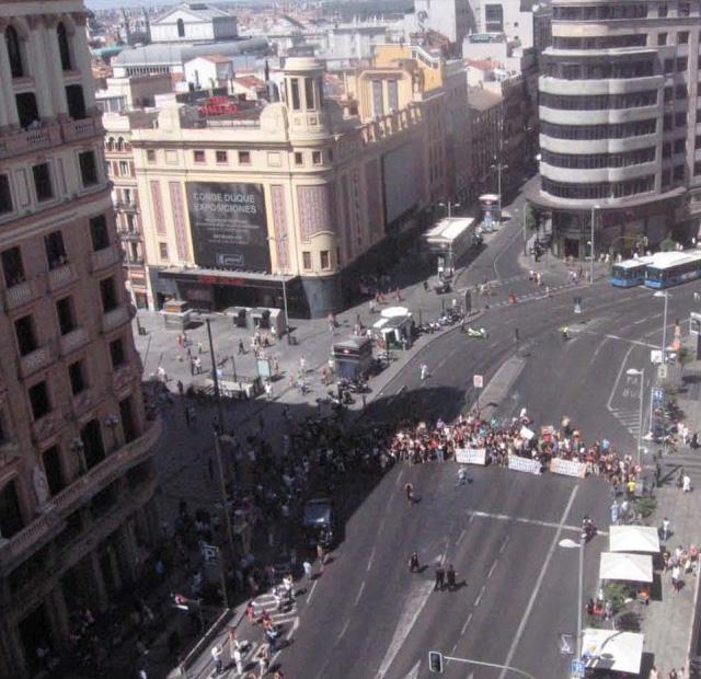 Protesta funcionarios