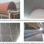 Informe sobre refuerzo de bóveda metálica en la Estación de Chamartín