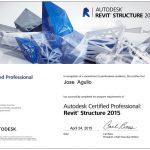 Certificado Autodesk en Revit Structure