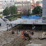 Obra de rehabilitación de locales en Moratalaz