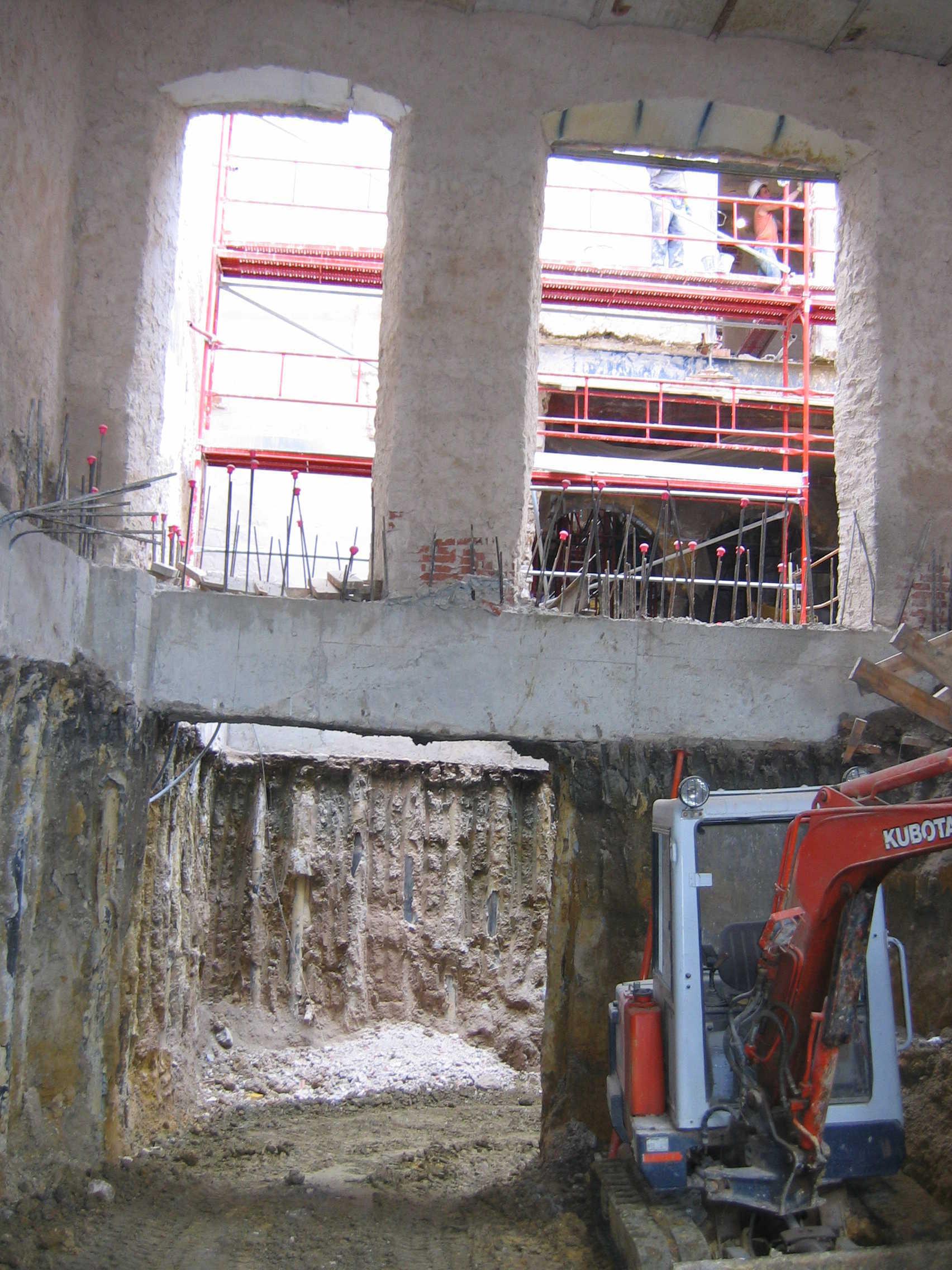 Reforma Hotel Albaicín para balneario y restaurante, en Coín (Málaga)</br></br> 2007</br></br> <h4>Cliente: BiArquitectos (Luis Biarge y Pedro Biarge)</h4>
