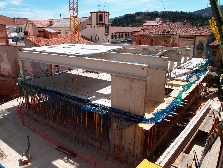Mercado Municipal de abastos (Soria)</br></br>2015</br></br><h4>Cliente: Ogmios Proyecto S.L. y Abalo arquitectura e ingeniería</h4>