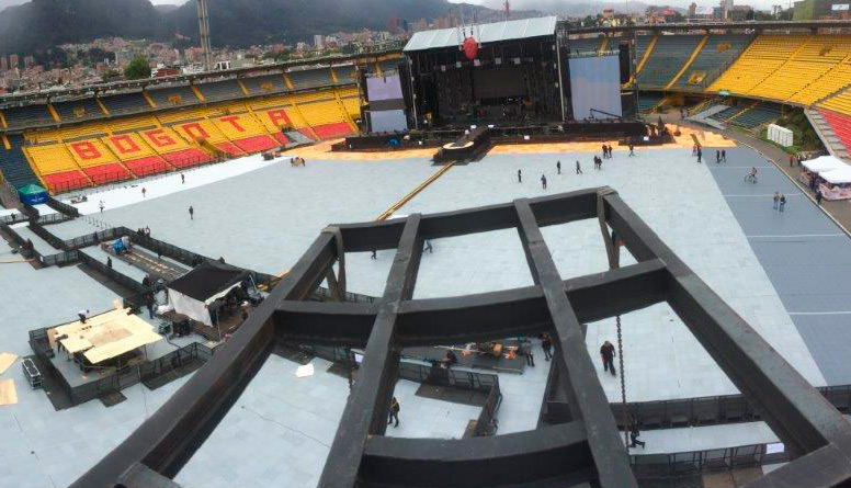 Asesoría Escenario en Medellín (COLOMBIA)</br></br> 2015</br></br> <h4>Cliente: Guillermo Marquina (Stage Colombia SAS)</h4>