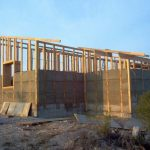 Proyecto para vivienda de madera y muros de paja en Bustarviejo