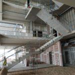 Obra de edificio de usos mixtos (industrial y oficinas) en San Fernando de Henares